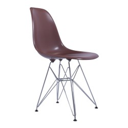 Replica Eames DSR Dining Chair brown