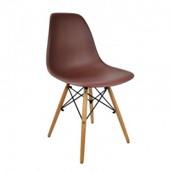 Replica Eames DSW Dining Chair coffee new