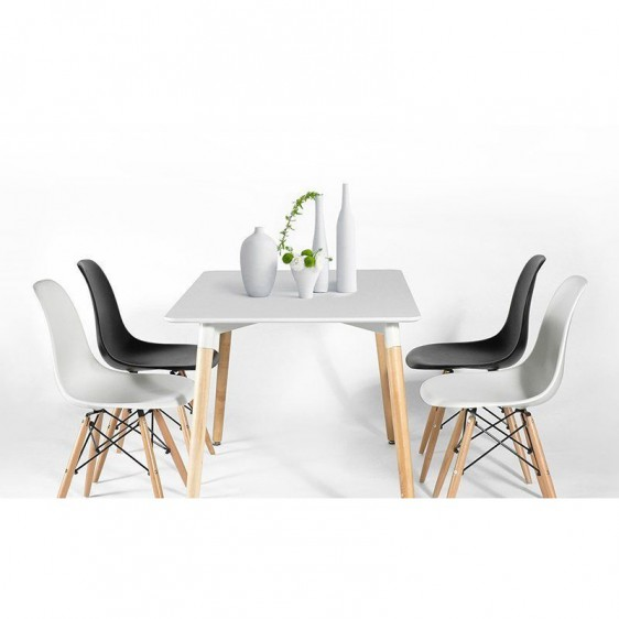 Replica Eames DSW Dining Chair  Previous  NextReplica Eames DSW Dining Chair. Set Of 4 Replica Eames Eiffel Dsw Dining Chair White. Home Design Ideas