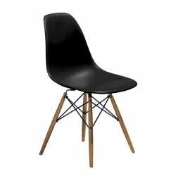 Replica Eames DSW Eiffel Dining Chair black new