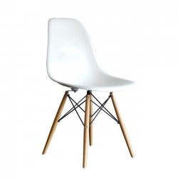 Replica Eames DSW Eiffel Dining Chair white new