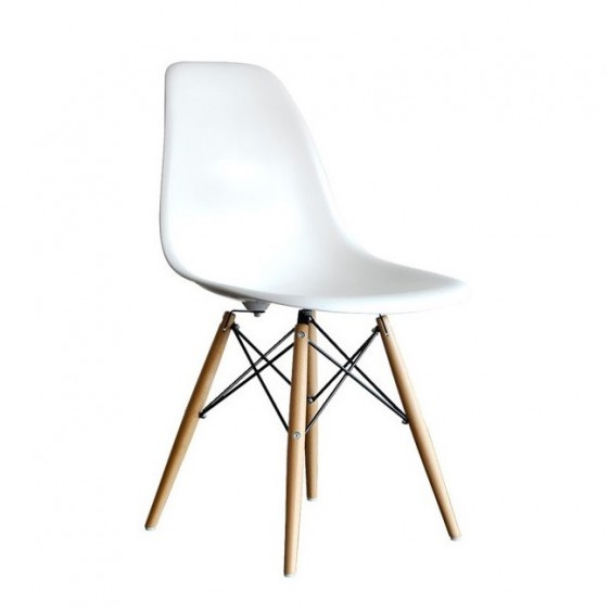 Replica Eames DSW Dining Chair  Set of 4 Replica Eames DSW Dining Chair. Set Of 4 Replica Eames Eiffel Dsw Dining Chair White. Home Design Ideas