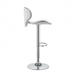 PLACE FURNITURE Saddleback Fly Bar Stool white