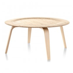 Replica Eames Molded Plywood Coffee Table natural - Place Furniture