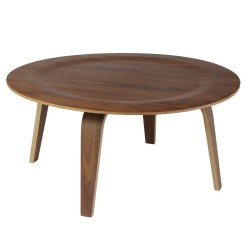 Replica Eames Molded Plywood Coffee Table walnut - Place Furniture