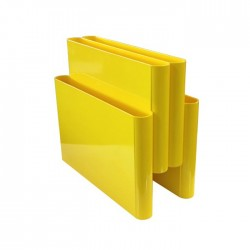 Replica Giotto Stoppino Magazine Rack yellow - Place Furniture