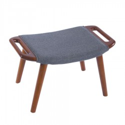 Replica Hans Wegner PP19 Papa Bear Chair with Ottoman 2
