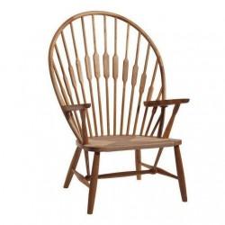 Replica Hans Wegner PP550 Peacock Chair walnut
