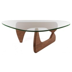 Replica Isamu Noguchi Coffee Table walnut - Place Furniture