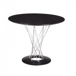Replica Isamu Noguchi Cyclone Dining Table black 100cm