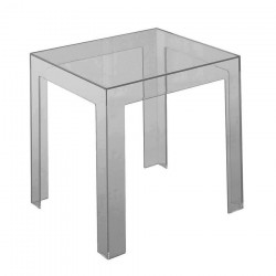 Replica Jolly Table by Paolo Rizzato smoke transparent grey