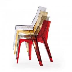 Replica Karim Rashid Poly Chair stackable 1