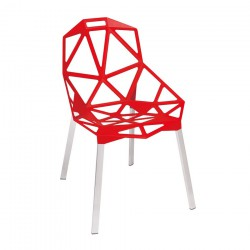 Replica Konstantin Grcic Chair One red 01