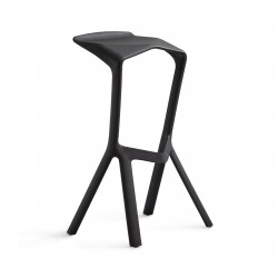 Replica Konstantin Grcic Miura Stool place furniture black