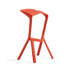 Replica Konstantin Grcic Miura Stool place furniture red
