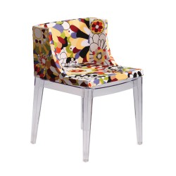 Replica Philippe Starck Mademoiselle Chair clear leg place furniture