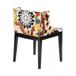 Replica Philippe Starck Mademoiselle Chair solid black leg