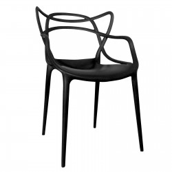 Replica Phillipe Starck Masters Chair black
