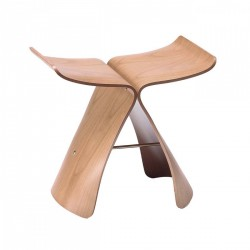 Replica Sori Yanagi Butterfly Stool Natural