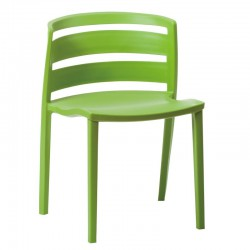 Replica Venezia Stacking Chair green front 1
