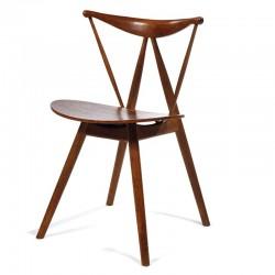 Replica Vilhelm Wohlert Piano Chair walnut - Place Furniture