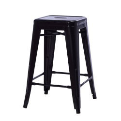 Replica Xavier Pauchard Tolix Stool 65cm black powder coating