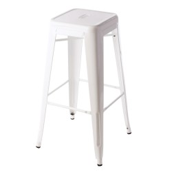 Replica Xavier Pauchard Tolix Stool 75cm white 1