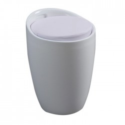 Wizi Storage Stool white