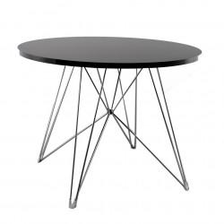 Replica Eames Eiffel Dinning Table black