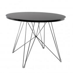 Replica Eames Eiffel Dinning Table black