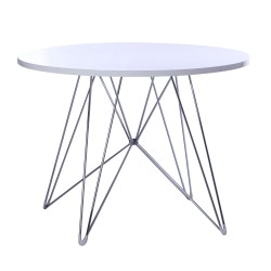 Replica Eames Eiffel Dinning Table white