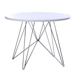 Replica Eames Eiffel Dinning Table white