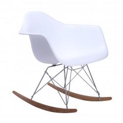 Replica Eames RAR Rocking Chair white