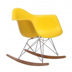 Replica Eames RAR Rocking Chair yellow