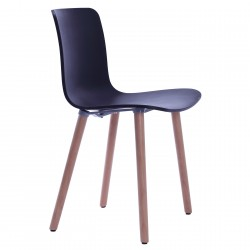 Replica Jasper Morrison Hal Wood Chair black - Place Furniture
