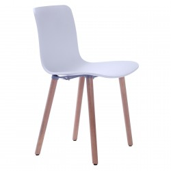 Replica Jasper Morrison Hal Wood Chair white - Place Furniture