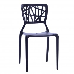 Replica Viento Dining Chair by Claudio Dondoli and Marco Pocci black