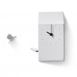 Cuckoo Nest Clock - Home grey