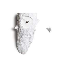 Cuckoo Nest Clock - Tree grey