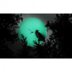 Moon X CLOCK-Raven4