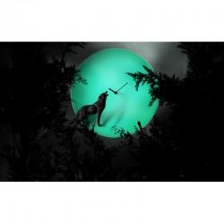 Moon X CLOCK-Wolf5