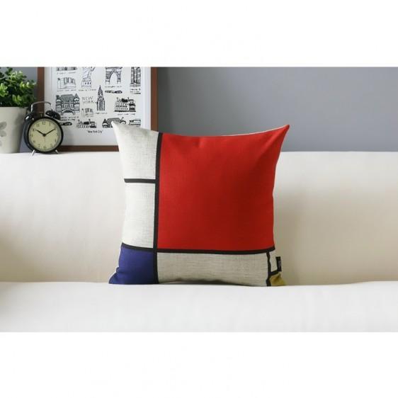 Place Piet Mondrian Cushion U2013 Composition V1
