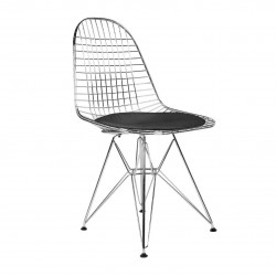 PLACE FURNITURE REPLICA EAMES WIRE DINING CHAIR BLACK 2