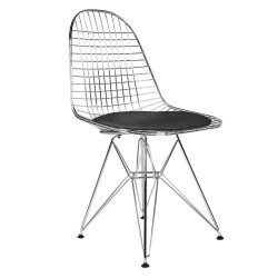 REPLICA EAMES WIRE DINING CHAIR BLACK 2