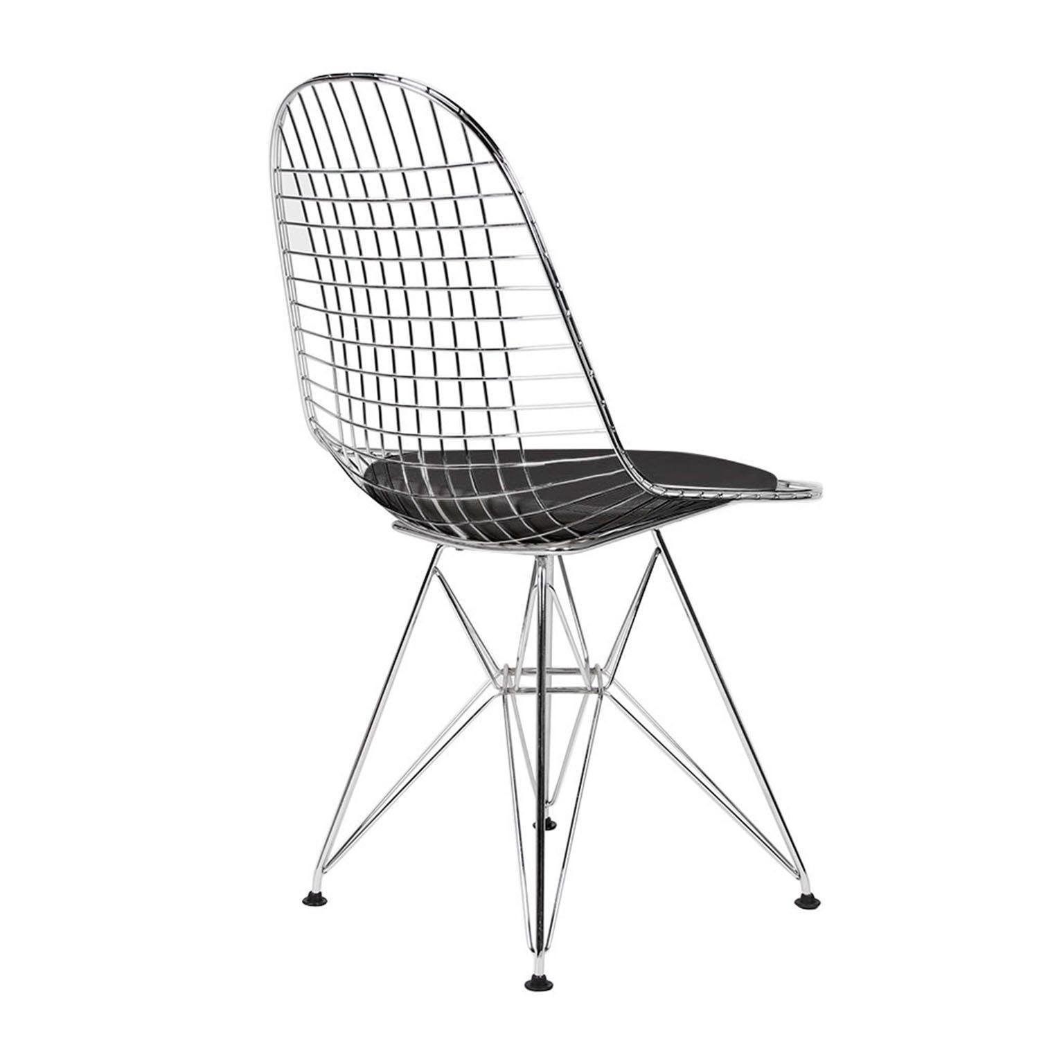 Replica Eames Wire Chair : REPLICA EAMES WIRE DINING CHAIR BLACK 3 from www.place-furniture.com.au size 1500 x 1500 jpeg 137kB
