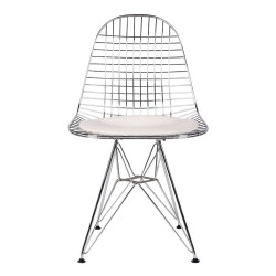 REPLICA EAMES WIRE DINING CHAIR WHITE 1
