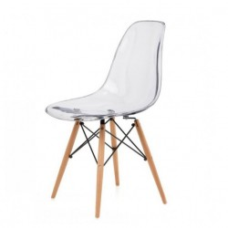 Replica Eames DSW Dining Chair transparent place furniture