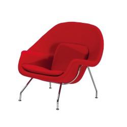 Replica Eero Saarinen Womb Chair red 1
