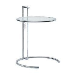 Replica Eileen Gray Adjustable Side Table 1