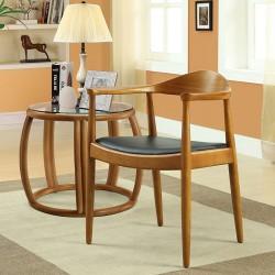 Replica Hans Wegner Round Dining Chair actual